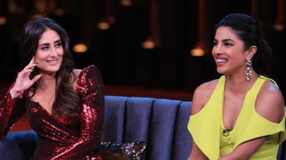 Current Bollywood News & Movies - Indian Movie Reviews, Hindi Music & Gossip - Koffee With Karan: Priyanka Chopra reveals what Nick Jonas asked her about her name...