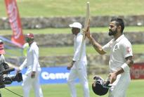 Rediff Cricket - Indian cricket - Virat Kohli speaks about hitting no sixes on way to 200 and possible team combination for 2nd Test