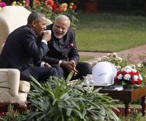 President Obama, Michelle Close India Trip with a 'Namaste', Fly to Saudi Arabia