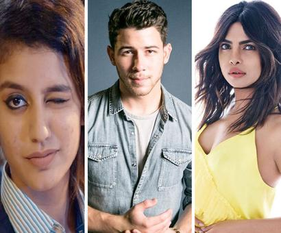 Current Bollywood News & Movies - Indian Movie Reviews, Hindi Music & Gossip - 'Wink girl' Priya Prakash Varrier is most searched personality on Google in 2018 followed by Nick Jonas, Sapna Choudhary and Priyanka Chopra