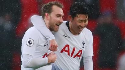 Rediff Sports - Cricket, Indian hockey, Tennis, Football, Chess, Golf - Christian Eriksen strike gives Tottenham last-gasp win over Burnley