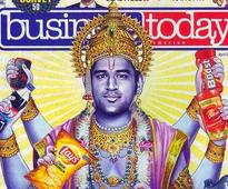 Rediff Cricket - Indian cricket - SC stays criminal proceedings against MS Dhoni for posing as Lord Vishnu
