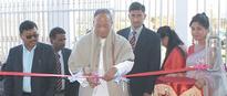 CM inaugurates Mahindra & Mahindra showroom