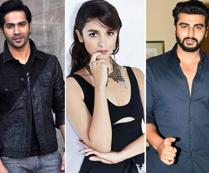 Current Bollywood News & Movies - Indian Movie Reviews, Hindi Music & Gossip - Varun Dhawan and Arjun Kapoor gang up on Alia Bhatt on Instagram!