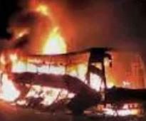 Bus on Way to Airport in Hyderabad Catches Fire, No Casualties