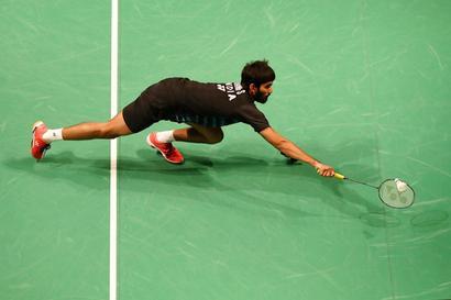 Rediff Sports - Cricket, Indian hockey, Tennis, Football, Chess, Golf - Australian Open: It's an all India affair as Srikanth to face Praneeth in quarter-final