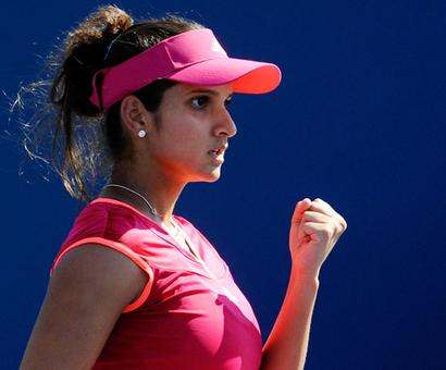 Rediff Sports - Cricket, Indian hockey, Tennis, Football, Chess, Golf - World No 1 Sania unmoved in WTA doubles rankings list