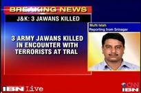 J&K: 3 Army personnel killed in an encounter with terrorists