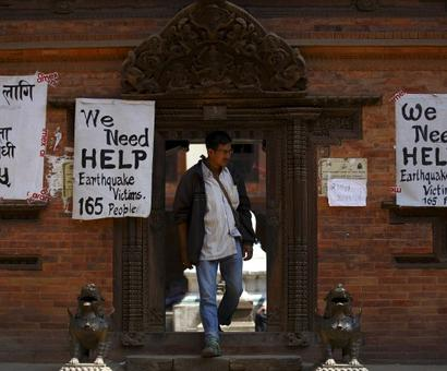 Quake-hit Nepal needs one million tents for survivors