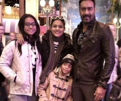Current Bollywood News & Movies - Indian Movie Reviews, Hindi Music & Gossip - Ajay Devgn opens up about his kids Nysa-Yug