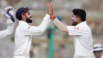 Rediff Cricket - Indian cricket - Ashwin's record 83/7 helps India to record biggest Test win outside Asia