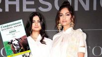 Current Bollywood News & Movies - Indian Movie Reviews, Hindi Music & Gossip - Sonam Kapoor and Rhea Kapoor win award for their brand 'Rheson'