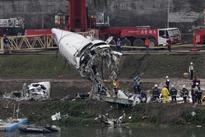 Taiwan plane crashed after engine switched off