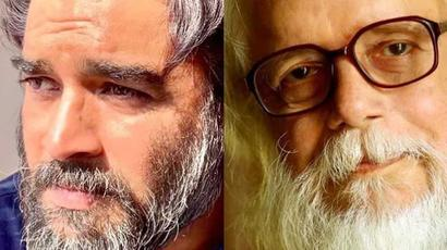 Current Bollywood News & Movies - Indian Movie Reviews, Hindi Music & Gossip - Madhavan reveals his look as scientist Nambi Narayanan and internet is impressed