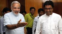 Raj warms up to Modi, lets Sena feel the heat