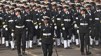 In a first, all-women contingent march down Rajpath on Republic Day