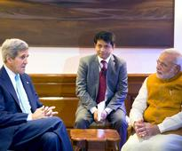John Kerry meets PM Modi says Indias refusal to sign WTO deal sends wrong signal
