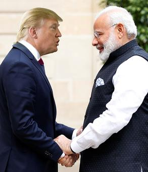 Trump's dinner for Modi, first for a visiting leader