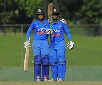 Rediff Sports - Cricket, Indian hockey, Tennis, Football, Chess, Golf - BCCI congratulates Indian eves for World Cup qualifier final win