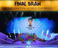 World Cup draw announced: Brazil, Croatia to kick off