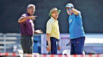 Rediff Sports - Cricket, Indian hockey, Tennis, Football, Chess, Golf - #INDAvAUS: Pune pitch | Ball will fly initially while spinners will get assistance from fourth day