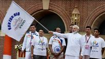 Rediff Sports - Cricket, Indian hockey, Tennis, Football, Chess, Golf - After Rio disaster, PM Modi announces 'Task Force' to prepare action plan for next three Olympics