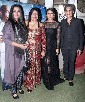 Current Bollywood News & Movies - Indian Movie Reviews, Hindi Music & Gossip - PIX: Huma Qureshi watches Partition: 1947 with Shabana Azmi