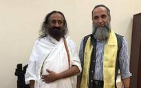 Burhan Wani's father contradicts Sri Sri Ravi Shankar over Bengaluru meeting