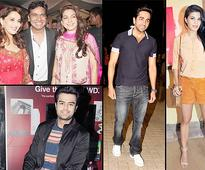 Madhuri, Juhi, Jacqueline, Ayushmann grace the screening of 'Gulaab Gang' (see pics)