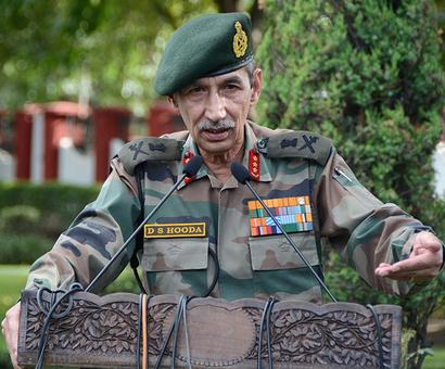 The General in charge of the surgical strikes