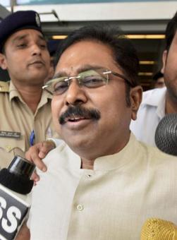 Day after 7-hour questioning, Dinakaran quizzed by cops again