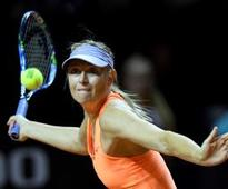 Sharapova's return ends in semifinal defeat to Mladenovic