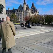 Canadian parliament rocked by gunshots; shooter at large