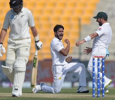 Rediff Cricket - Indian cricket - 1st Test, Day 3: Shah and Ali slice through Kiwis to put Pakistan in control