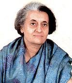 Indira yesterday, Rajnath today