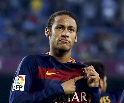 Rediff Sports - Cricket, Indian hockey, Tennis, Football, Chess, Golf - Barcelona leaves Neymar out of El Clasico