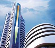Sensex shades off at close