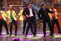 Current Bollywood News & Movies - Indian Movie Reviews, Hindi Music & Gossip - PAISA VASOOL: Govinda shows off his classic moves on The Drama Company