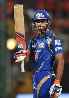 Clinical Mumbai beat RCB to register their first win in IPL 8