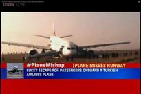Turkish Airlines jet with 238 onboard misses runway while landing at Kathmandu airport