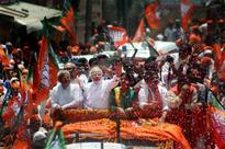 Narendra Modi leads Varanasi roadshow, files nomination