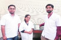Electricity free equipment to tackle water contamination
