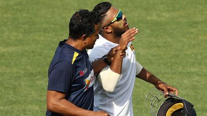 Rediff Cricket - Indian cricket - Relief for Sri Lanka as Mendis cleared of serious injury