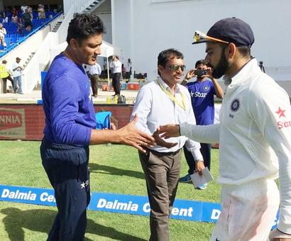Rediff Sports - Cricket, Indian hockey, Tennis, Football, Chess, Golf - Kohli credits Kumble for channelling his aggression