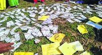 Aadhaar cards found dumped in Imphal River