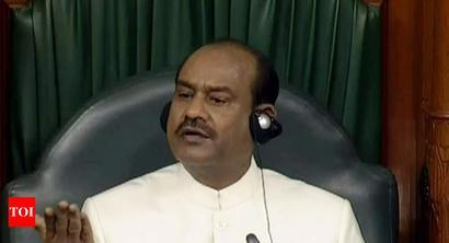 Om Birla plans common rulebook for state Houses, Parliament