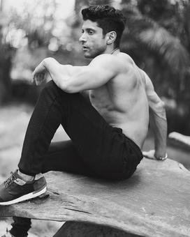 Oh, wow! These inside images of Farhan Akhtar`s latest magazine shoot are a treat to sore eyes