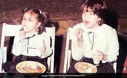 Kareena And Karisma Kapoor's Happy Memory From Childhood. See Pic