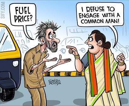 BJP members rough up auto driver for asking about fuel price