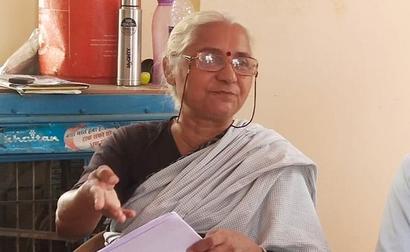 Medha Patkar Sees